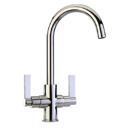 Paini Cox Twin Paddle Lever Monobloc Kitchen Mixer Tap